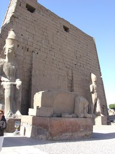Temple at Luxor, Egypt  by Galen R Frysinger.