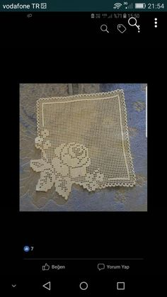 Crochet Art, Thread Crochet, Filet Crochet, Crochet Doilies, Crochet Designs, Crochet Patterns, Crochet Squares, Chrochet, Projects To Try