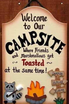Love this, I cant wait to get a sign for our camping adventures. Ive always wanted one!