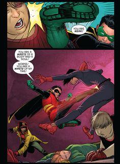 Grayson 15. Damian Wayne. Robin.