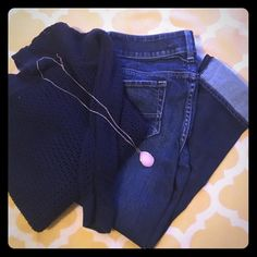AE strength artist capris AE artist stretch Capri jeans size 4 in perfect condition American Eagle Outfitters Jeans Ankle & Cropped