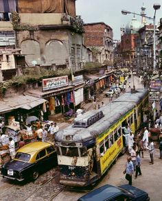 Calcutta - I chose this image because of it's complexity and representation of India, I like in particular the amount of colour captured in one image alone and the aray of transportation. Goa India, India And Pakistan, Karachi Pakistan, Delhi India, Udaipur, Jaisalmer, Agra, Taj Mahal, Amazing India