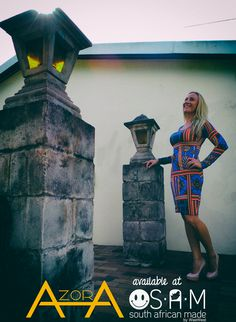SAM-South African Made store. #SAM #SouthAfricanMade #localDesigners #Fashion #shop #azora #midiDress #tribalPrint #Dress www.samstoresa.co.za Tribal Prints, African, My Style, Store, Clothes, Dresses, Fashion, Outfits, Vestidos