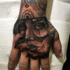 Payasa | Ese Macko | amazing inked hand @Napoli #mithraneedles #pantheraink #inkeeze #bishoprotary