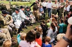 Base Camp in Veghel. Het is 70 jaar gelden dat Operation Market Garden werd uitgevoerd.   Meer op www.omroepbrabant.nl/marketgarden