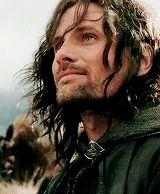 viggo mortensen as aragorn he looks kinda bad when not aragorn...
