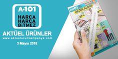 Market raflarında bu hafta satışa sunulacak ürün broşürleri olan A101 3 Mayıs 2018 tarihli aktüel ürünler kataloğunu inceledik. Birbirinden cazip fiyatlara A101 market 3 Mayıs 2018 tarihinde müşterilerine sunmaya hız kesmeden devam ediyor.