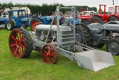 fordson F with loader