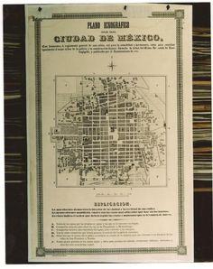 Mapas de la ciudad de Mexico - wikiishtar