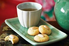 Chinese almond biscuits #ChineseNewYear http://www.taste.com.au/recipes/20257/chinese+almond+biscuits