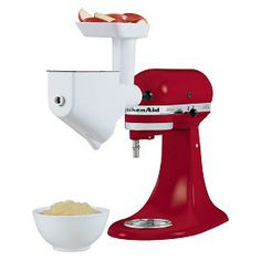 VIDEO | How to use the KitchenAid Food Grinder & Fruit/Vegetable Strainer Stand Mixer Attachment available at @Carson's.