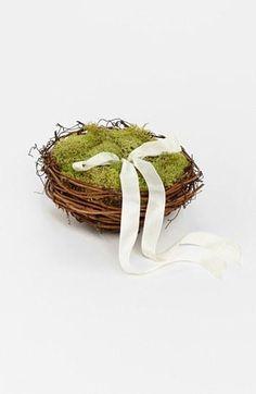 Etsy & Nordstrom present: Whichgoose 'Love Nest' Ring Bearer Pillow