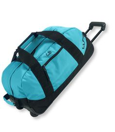 Perfect for weekends away.  Rolling Adventure Duffle, Medium: Duffle Bags | Free Shipping at L.L.Bean
