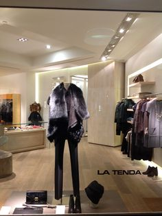 LA TENDA | via Solferino  #ShopWindows #latendamilano #boutique #fall13 #FW13 #womenswear #MadeinItaly Shop Windows, Boutique, Suits, Closet, Shopping, Fashion, Moda, Armoire, Fashion Styles