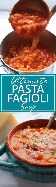 Ultimate Pasta Fagioli | A twist on a classic. This Ultimate Pasta Fagioli is delicious and full of hearty goodness. PERFECT for a cold winter supper. A MUST TRY | forkknifeandlove.com