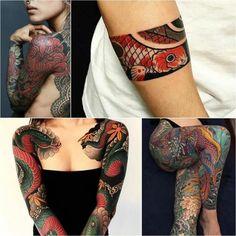 japanese tattoos - japanese tattoos for women - japanese tattoos meanings. - japanese tattoos – japanese tattoos for women – japanese tattoos meanings. Japanese Tattoo Meanings, Japanese Tattoo Women, Japanese Tattoo Designs, Japanese Tattoo Art, Japanese Sleeve Tattoos, Sleeve Tattoos For Women, Irezumi Tattoos, Leg Tattoos, Body Art Tattoos