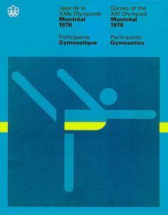 Montreal 1976 / Participants Gymnastics — Georges Huel