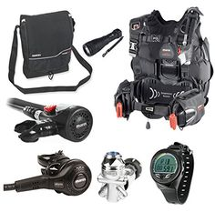Mares Hybrid Pure BCD Scuba Diving Regulator Package with Dive Computer ML - http://scuba.megainfohouse.com/mares-hybrid-pure-bcd-scuba-diving-regulator-package-with-dive-computer-ml/