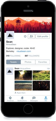 What do you think of the new look Twitter profiles on iOS?—Those of you using iOS 7 or higher will get a surprise in the form of Twitter's new look.