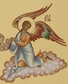 Byzantine Art, Byzantine Icons, Religious Icons, Religious Art, Greek Icons, Saints And Sinners, Orthodox Icons, Angel Art, Christianity