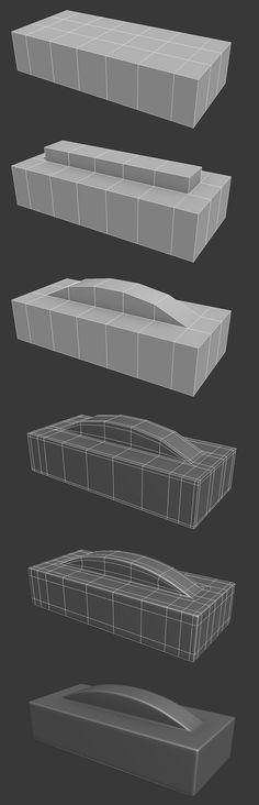FAQ: How u model dem shapes? Hands-on mini-tuts for mechanical sub-d AKA ADD MORE GEO - Page 171 - Polycount Forum