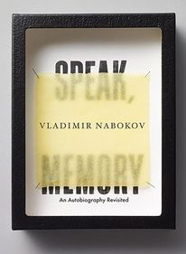 The Book Cover Archive: Speak, Memory, design by Michael Bierut