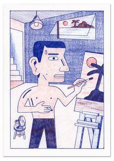 The Artist (Risograph) 0
