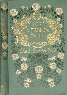 Antique early 20th century decorative publisher's edition