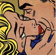 Roy Liechtenstein, Kiss V