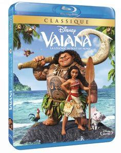 VAIANA, LA LÉGENDE DU BOUT DU MONDE : AUJOURD'HUI en Blu-ray 3D, Blu-ray et DVD ! – Gamezik