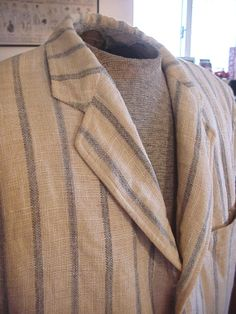 FAB 40/50's Van BovenLinen Sportcoat by OldohioVintage on Etsy, $55.00