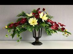 Diy Centerpieces, Funeral, Flower Designs, Make It Yourself, Flowers, Plants, Table Arrangements, Plant, Royal Icing Flowers