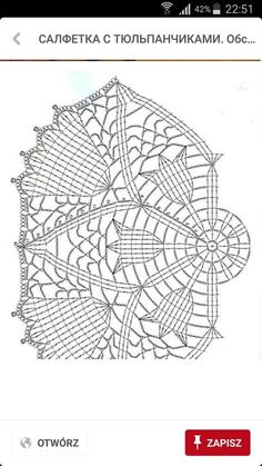 Photo from album Crochet Circles, Crochet Doily Patterns, Crochet Mandala, Crochet Chart, Thread Crochet, Filet Crochet, Crochet Motif, Crochet Doilies, Crochet Stitches