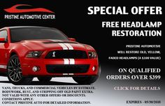 Take Advantage of Our #AutoBody Maintenance and Collision Repair Coupons http://www.pristineautobody.com/coupons.html   #pristineautomotive