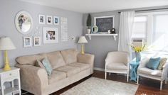 Scattered thoughts and Inspiring Living Spaces