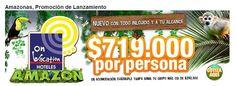 Amazonas, Promocion de Lanzamiento