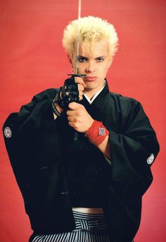 """hellyeahbillyidol: """" From Music Life magazine, 1984. Photo by Koh Hasebe. """""""
