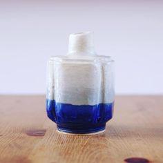 #瑠璃 #花瓶 #陶器 #陶芸作品 #陶芸 #pottery #vase
