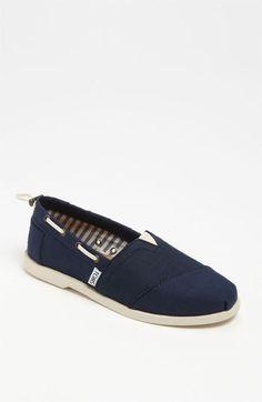 TOMS 'Bimini - Nautical' Boat Shoe (Women) available at #Nordstrom