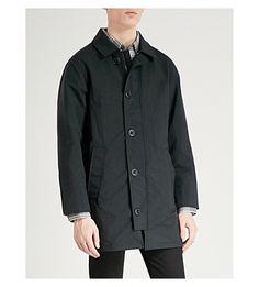 Canada Goose Wainwright Shell Coat In Black Elbow Patches, Welt Pocket, Canada Goose, Parka, Shell, Menswear, Shirt Dress, Mens Fashion, Coat