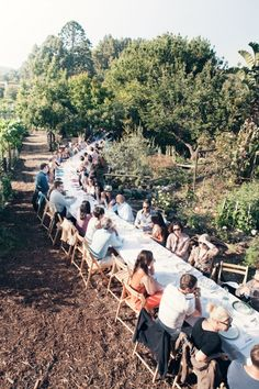 Outstanding in the field L.A. dinner