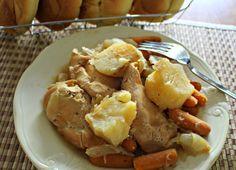 Crockpot Chicken And Veggies