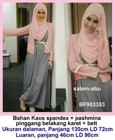 Baju Muslim Kaos Cardi Panjang Baju Muslim Kaos Cardi