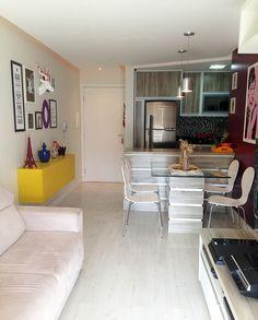 antes e depois do nosso apartamento - apartamentos pequenos - salas
