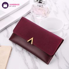 8d1a532b745f85 New Two Tone Leather Wallet. Price   11.96  amp  FREE Shipping   FreeShipping Coin