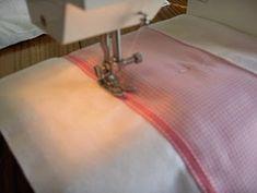 Tutorial to dress up cloth diaper burp cloths
