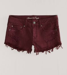 AE Destroyed Festival Shortie | American Eagle Outfitters, i love the color