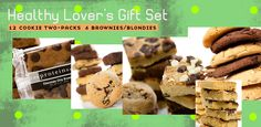 It's a wrap. For all your healthy holiday what-have-you's. These fresh-baked gift sets are all set to deliver.