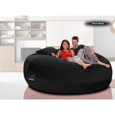 Yogi Double Bean Bag doubles as chair or bed Furniture