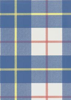 Blue and White Check Wallpaper | Tartan Wallpaper | Ranold Wallpaper